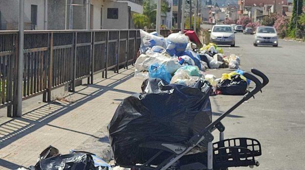 barcellona pozzo di gotto, rifiuti, Messina, Cronaca