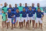 Beach soccer, l'Italia s'impone 6-5 contro la Svizzera e accede alla fase finale