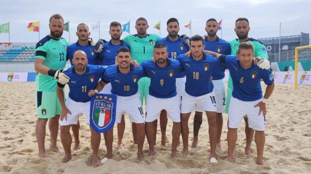 La nazionale italiana di beach soccer
