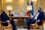 """Salvini a Reggio: """"Gradualmente un unico soggetto di centrodestra. Gratteri? Al suo fianco"""""""