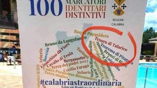gaffe, regione calabria, tesoro di talarico, turismo, Calabria, Cronaca