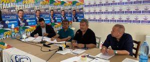 Cataldo Calabretta, Michele Pagano, Nino Spirlì e Renato Bellofiore