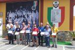 Scalea, consegnate le civiche benemerenze ai campioni d'Italia del 1971