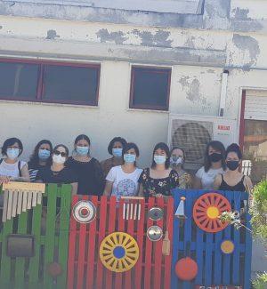 L'asilo di Condofuri è più bello grazie al lavoro delle mamme-volontarie