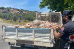 Montalto Uffugo, trasporto illeciti di rifiuti: tre denunciati