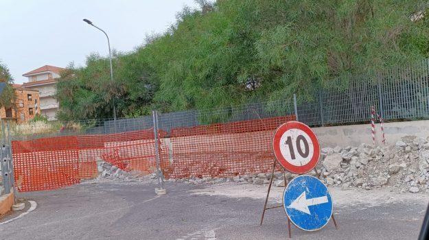 lavori sottopasso ferroviario, torretta crucoli, Catanzaro, Cronaca