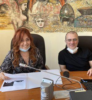 Rosa Martirano e Massimiliano Battaglia