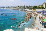 La spiaggia del quartiere Lido di Catanzaro