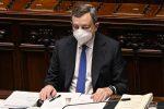 """Draghi alla Camera: """"La fiducia sta tornando. L'Italia tornerà a crescere"""""""