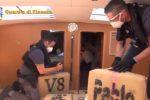 Maxi sequestro di droga su un veliero nel canale di Sicilia: sei tonnellate di hashish