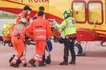 San Piero Patti, scontro frontale tra due auto: quattro feriti gravi