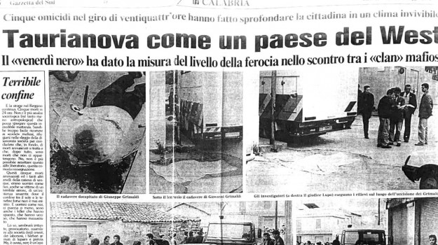 'ndrangheta, faida, taurianova, venerdi nero, Pasquale Zagari, Reggio, Cronaca