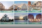 L'Italia riscopre il suo patrimonio con i francobolli dedicati a Roma, Milano, Venezia, Firenze, Napoli e Palermo - FOTO