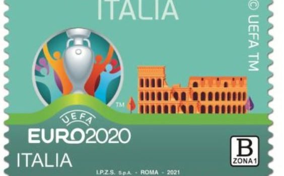 colosseo, euro 2020, francobollo, poste, Sicilia, Euro 2020