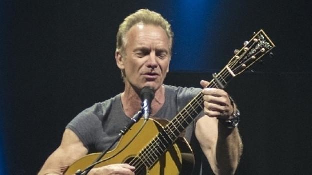 Sting riparte da Taormina: il 27 settembre al Teatro Antico