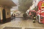 Crotone, incendio al bar del lido balneare: probabile guasto elettrico