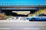 Crotone, discarica abusiva nei pressi della statale 106 sequestrata dalla Stradale