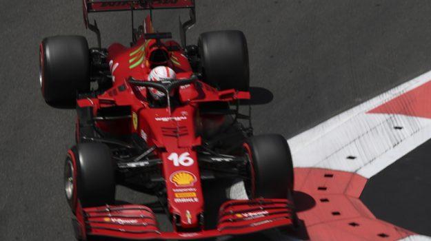 ferrari, formula 1, gp baku, Charles Leclerc, Sicilia, Sport