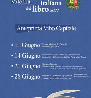 Vibo capitale italiana del libro: ecco il programma degli eventi