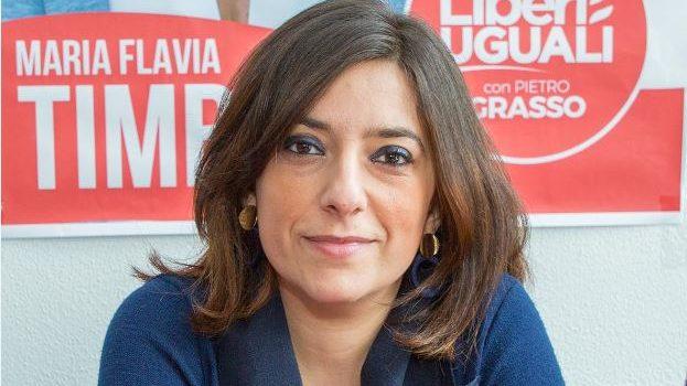 Maria Flavia Timbro, Messina, Politica