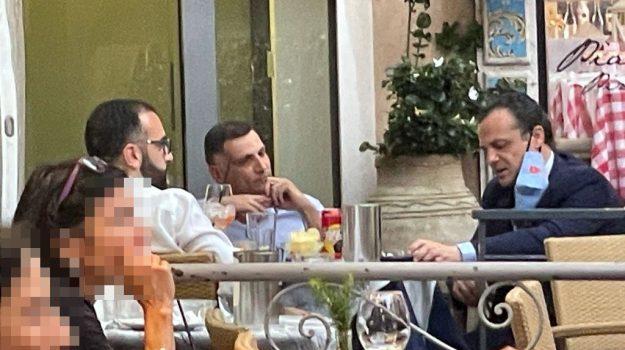 incontro, Anthony Barbagallo, Cateno De Luca, Danilo Lo Giudice, Sicilia, Politica
