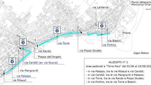 isola pedonale permanente, torre faro messina, Messina, Cronaca