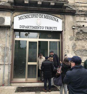 L'ufficio tributi del Municipio di Messina