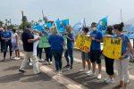 """Tutti in piazza a Messina per """"salvare"""" Nemo Sud, i malati di sla: """"Se chiude dove andremo?"""""""