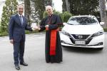Nissan Leaf 100% elettrica entra nella flotta del Vaticano