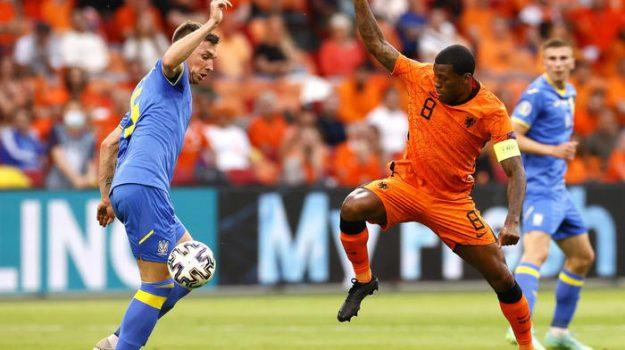 Euro 2020: Olanda-Ucraina è la festa del gol. Orange ok 3-2 al termine di un match al cardiopalma