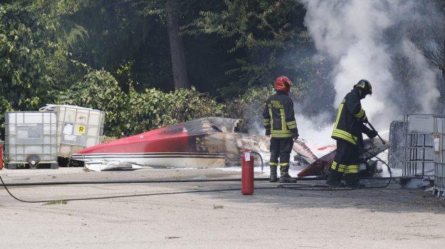 airone, aqua, incidente aereo, padova, Egidio Gavazzi, Sicilia, Cronaca