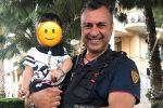 Bagheria, poliziotto salva bimbo di 18 mesi che aveva ingoiato pacchetto di plastica e stava soffocando