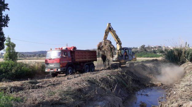 Riqualificazione a Crosia: ripuliti tutti i fossi di scolo