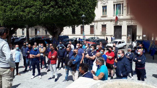 protesta lavoratori avr, rifiuti reggio calabria, Reggio, Cronaca