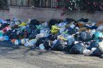 Reggio, la città torna ai cassonetti su strada
