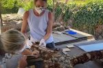 """Naxos, """"cantieri aperti"""" per il restauro di tre antichissime ancore"""