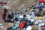 Trasporto illegale di rifiuti pericolosi a Lamezia, il fuoco fatto appiccare ai minorenni