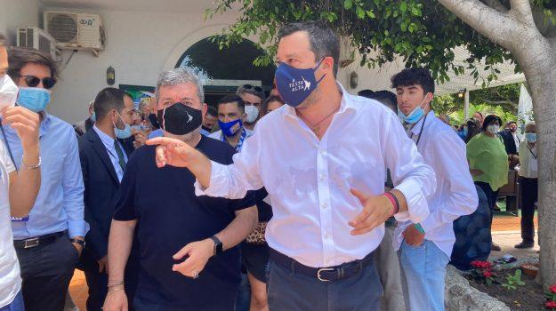 Elezioni Calabria 2021, lega, Giacomo Francesco Saccomanno, Luigi de Magstris, Matteo Salvini, Nino Spirlì, Calabria, Politica