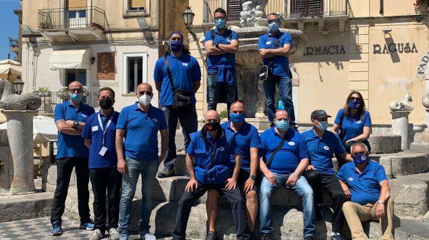 lavoratori asm, protesta, taormina, Messina, Cronaca