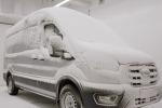 Test estremi per i prototipi del Ford E-Transit elettrico