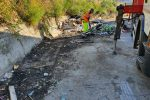 Catanzaro, ripulita la discarica abusiva di via Smaldone