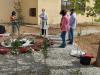 Gli alberi della memoria delle vittime del covid piantati nel giardino dell'Itg-Iti di Vibo Valentia