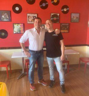 Gli imprenditori Francesco De Marco e Salvatore Lazzaro a Pizzo