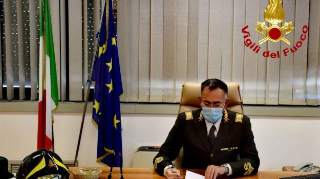 direttore regionale Calabria, vigili del fuoco, Maurizio Lucia, Calabria, Cronaca