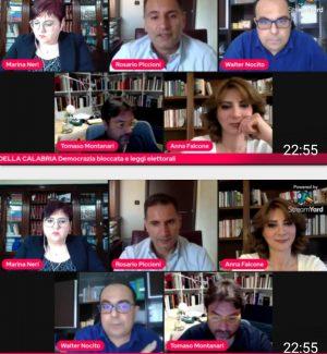 """Primavera della Calabria: """"No a leggi elettorali che bloccano la democrazia"""""""