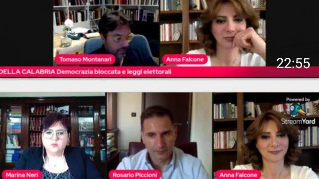 legge elettorale, primavera della Calabria, webinar, Catanzaro, Politica