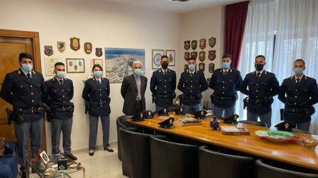 14 nuovi agenti, questura crotone, Catanzaro, Cronaca