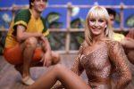 """© LaPresseArchivio storico1985SpettacoloRaffaella CarrˆNella foto: la showgirl Raffaella Carrˆ durante la trasmissione """"Pronto Raffaella"""""""