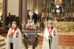 Messina, il fercolo di San Giacomo in Cattedrale: si rinnova la tradizione. LE FOTO