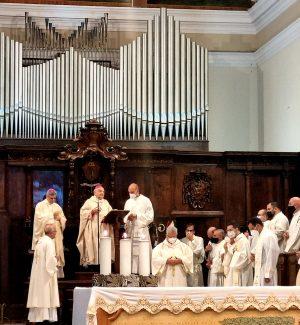 Lamezia, celebrati i 70 anni di sacerdozio di monsignor Rimedio